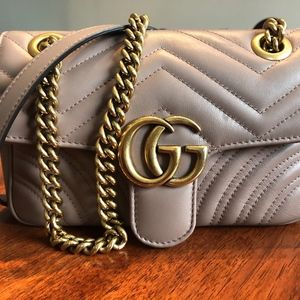 GG Marmont Matalassé Shoulder Bag